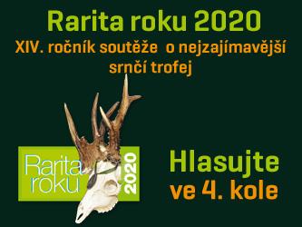 Rarita roku 2020 - hlasujte ve 4.kole
